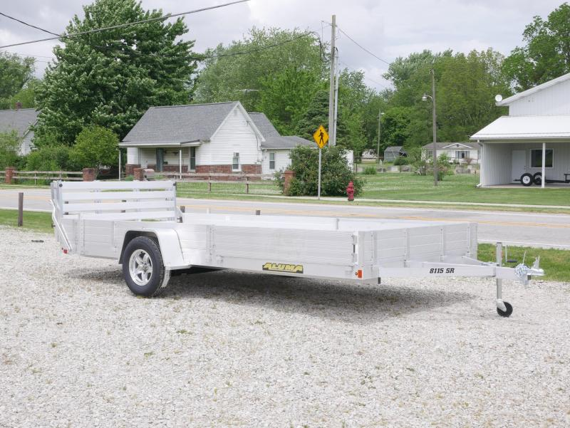 2021 Aluma 8115-BT-SR ATV Trailer