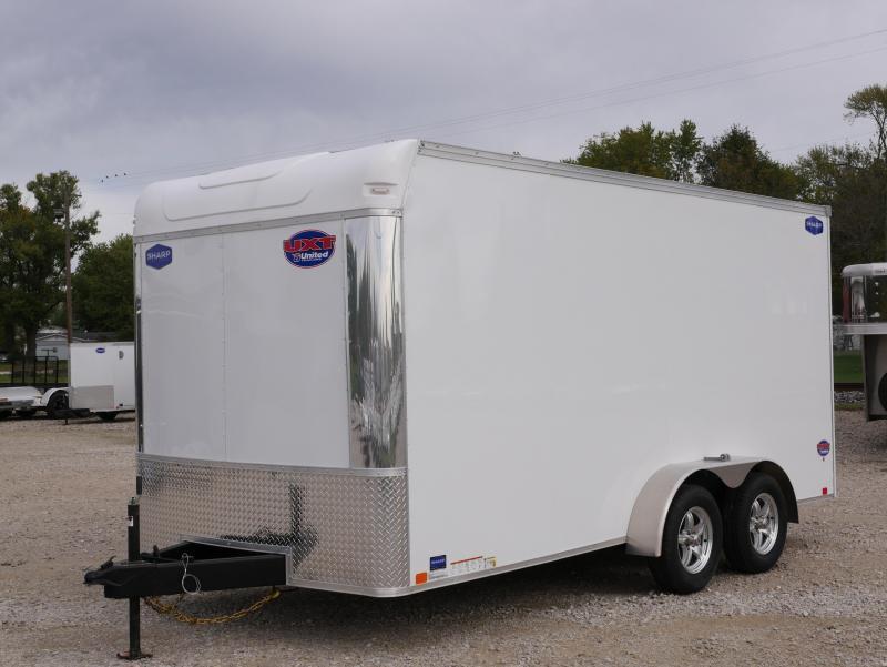 2022 United Trailers UXT 7X16TA35 Enclosed Cargo Trailer