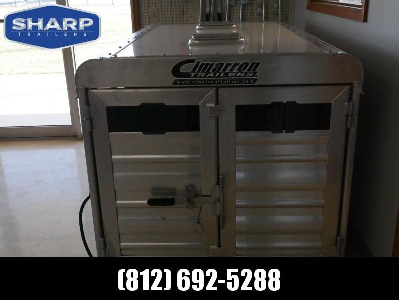 2021 Cimarron Trailers STOCK BOX Truck Boxes (Livestock and Dog)