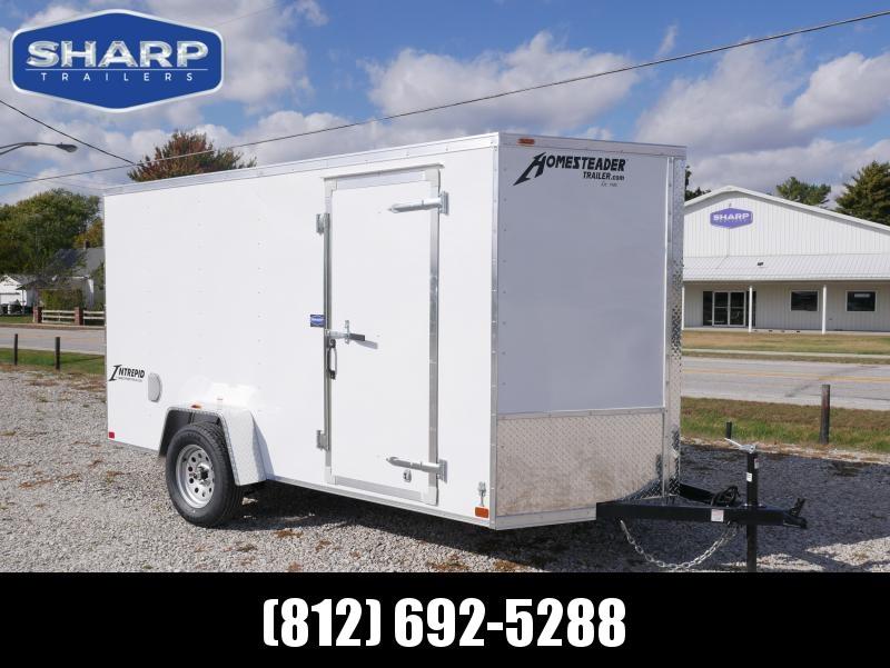 202 Homesteader 612IS Enclosed Cargo Trailer