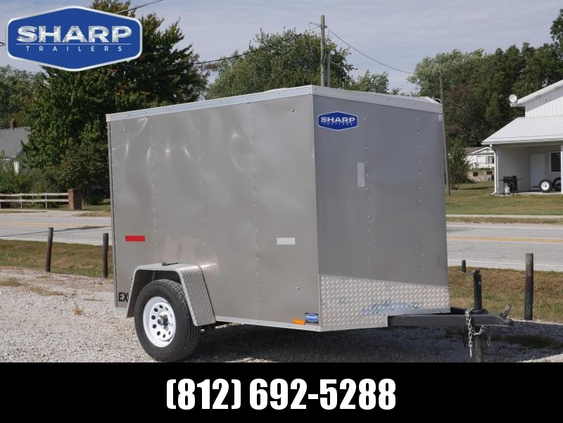 2016 Cargo Express 5x8 SA Enclosed Cargo Trailer