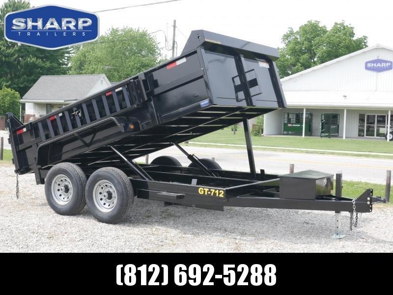 2022 Griffin LMD8312TA70 Dump Trailer