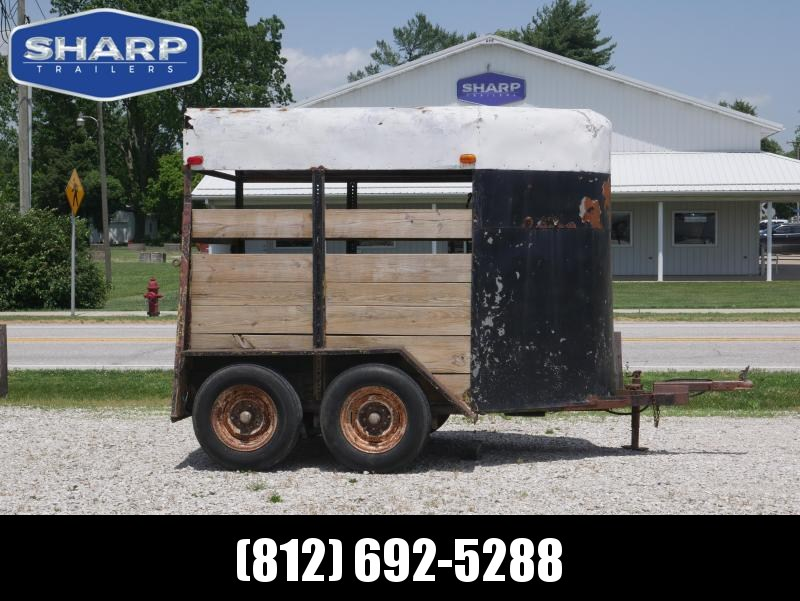 1979 Homemade Stock Livestock Trailer