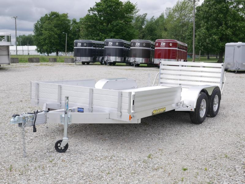 2021 Aluma 8116TA-BT ATV Trailer