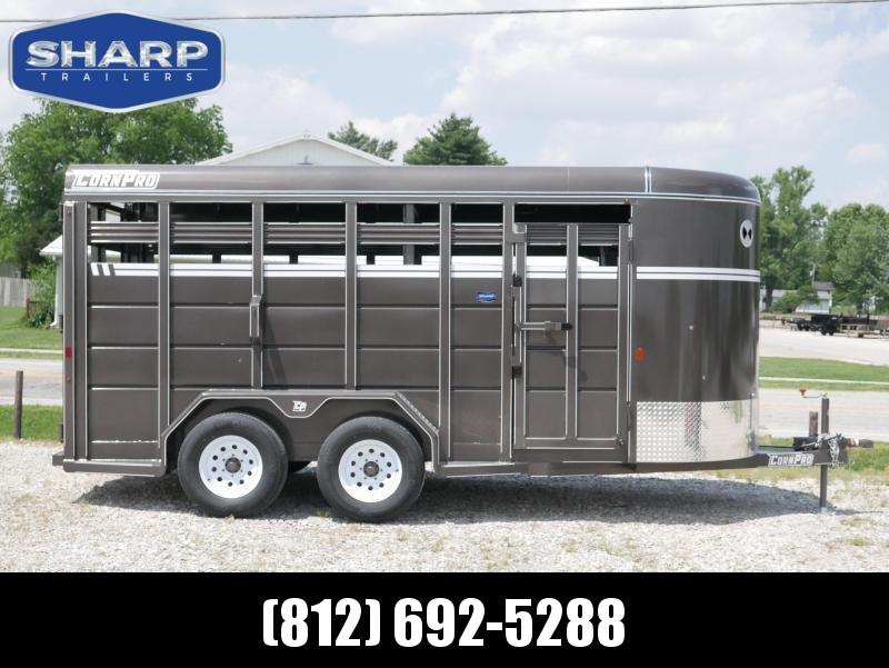 2021 CornPro Trailers SB 16 6S Livestock Trailer