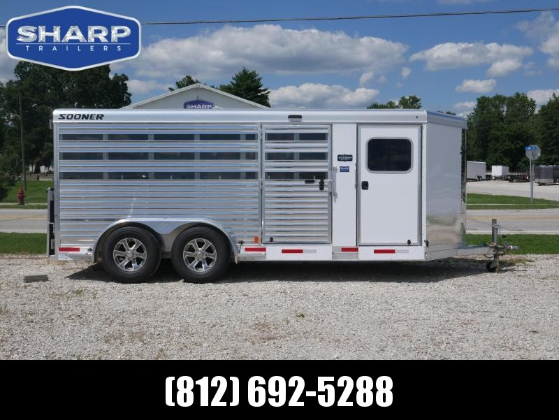 2021 Sooner Select 716 BP Livestock Trailer