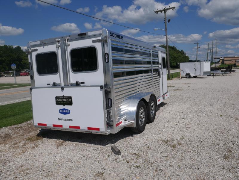 2021 Sooner Select 716 BP Livestock Trailer