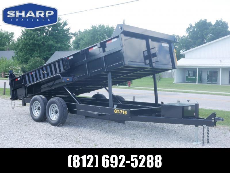 2020 Griffin LMD8316 Dump Trailer