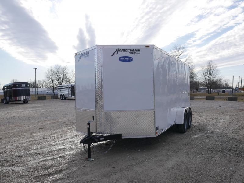 2021 Homesteader 716IT Enclosed Cargo Trailer