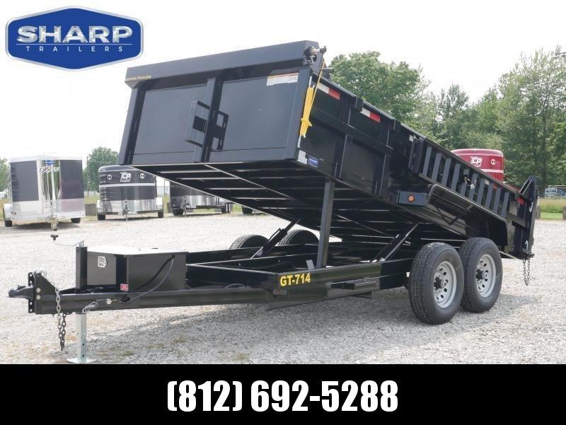 2022 Griffin LMD8314TA70 Dump Trailer