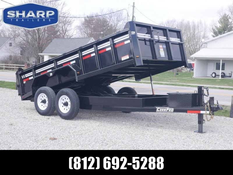 2020 CornPro DB 14 Dump Trailer