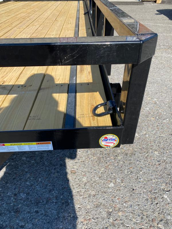 2021 Sure-Trac 7 x 18 Tube Top Utility Trailer  7K OPTIONS:LADDER GATE              6 D RINGS