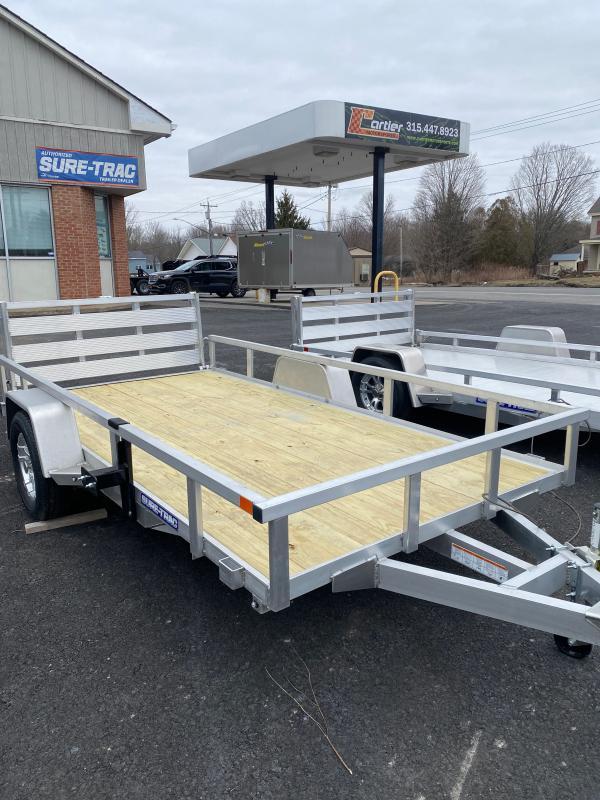 2021 Sure-Trac 6 X 12 Aluminum Tube Top Utility  3K Idl trailer