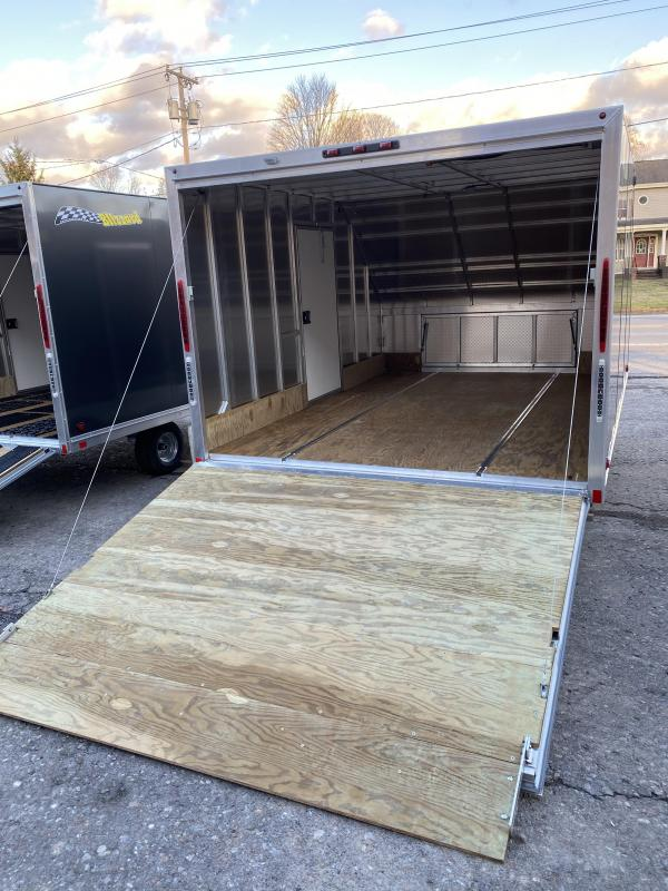 "2021 Blizzard Manufacturing Nor-Easter 12 Snowmobile TrailerWITH THESE OPTIONS:SIDE MAN DOOR5' 6"" TO 6'REVERSE LIGHTS"