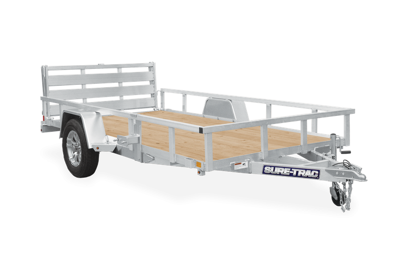 2021 Sure-Trac 6 X 12 Aluminum Tube Top Utility  3K Idl trailer