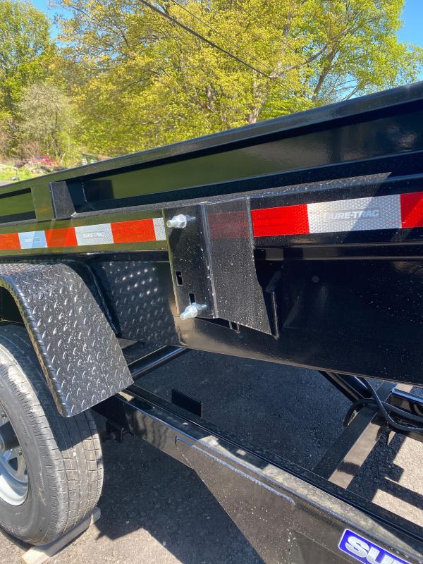 2021 Sure-Trac 5 x 8 Low Profile Homeowner Dump Trailer