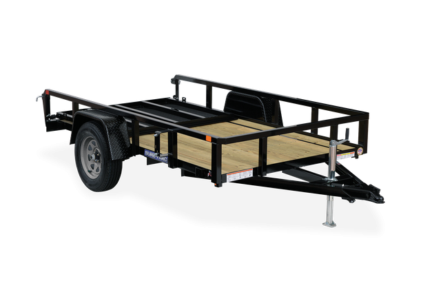 2021 Sure-Trac 7 x 14 Tube Top Utility Trailer  3.5K Br