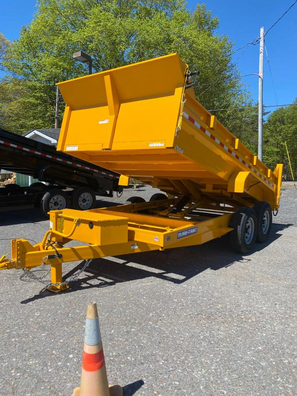 2021 Sure-Trac 82 IN x 14 HD Low Profile Dump Trailer    OPTION: YELLOW COLOR