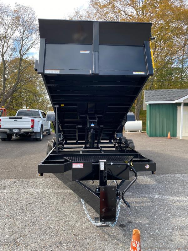 2022 Sure-Trac 82 IN x 16 HD Low Profile Dump Trailer
