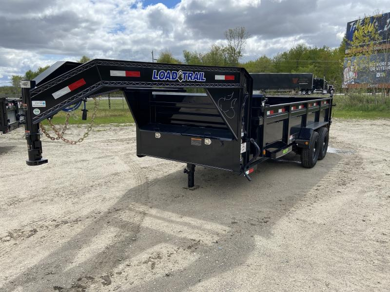 Load Trail 83X16 14K Gooseneck Dump Trailer