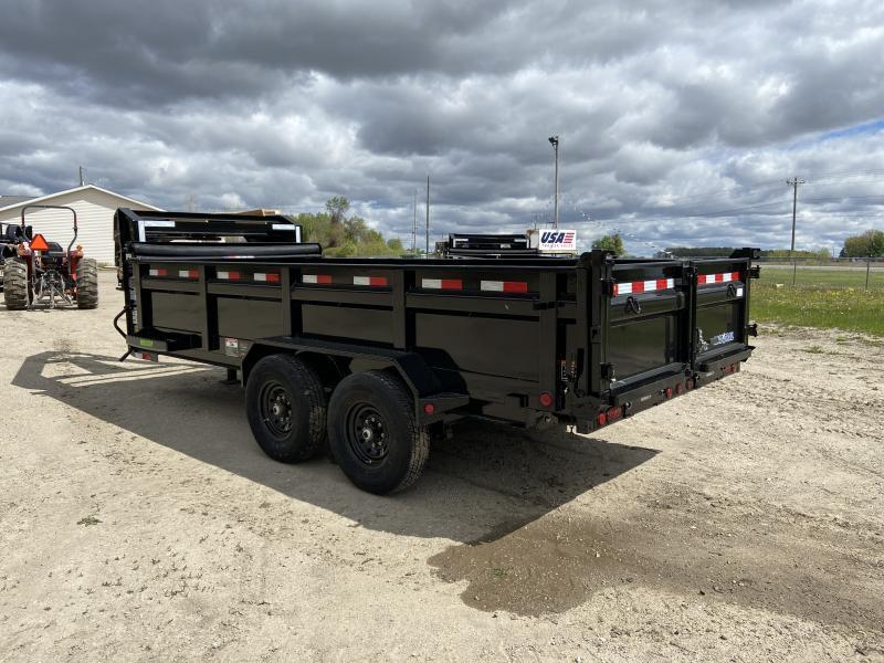 Load Trail 83X16 14K Gooseneck Dump Trailer