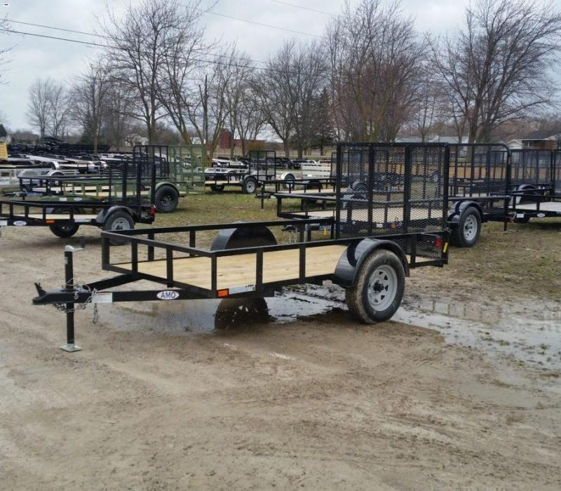 5 x 10 A.M.O. Low Side Landscape Trailer