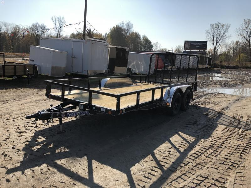 Load Trail 83 x 16ft Premium Utility Trailer w/ Spring Assist Gate