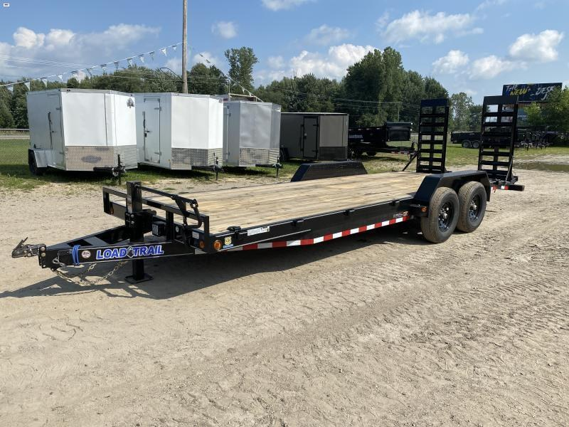 Load Trail 22ft 14K Equipment Trailer w/ HD Ramps