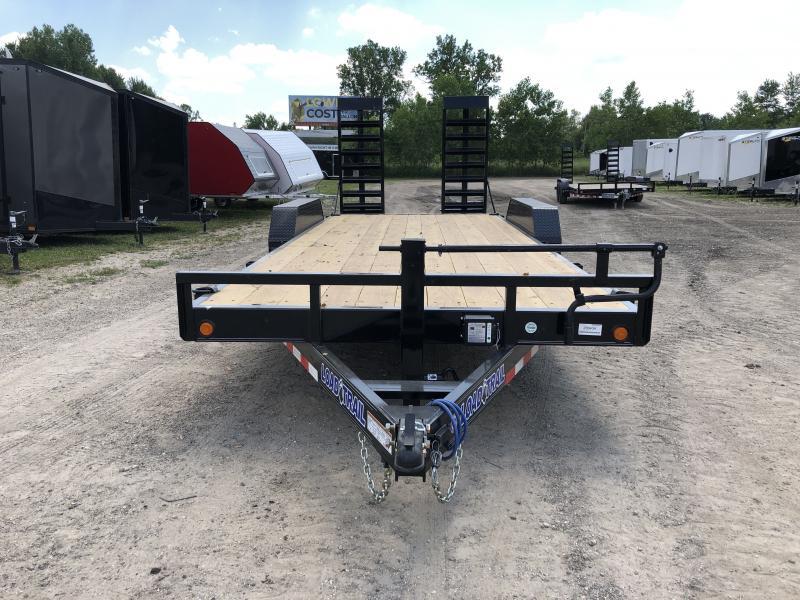 Load Trail 20ft 14K Equipment Trailer W/HD Ramps
