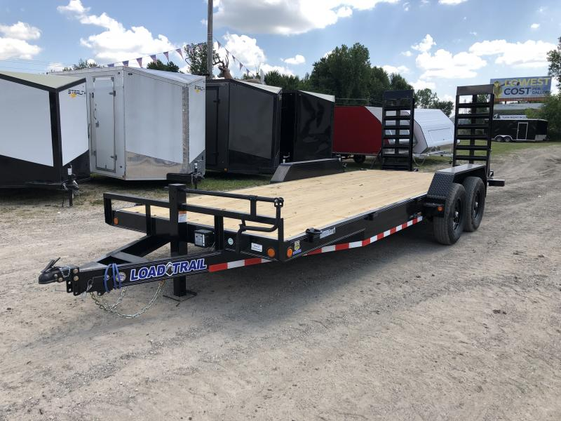 Load Trail 20ft 14K Equipment Trailer W/HD Ramps