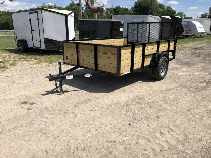 6.4 x 10 A.M.O. High Side Landscape Trailer
