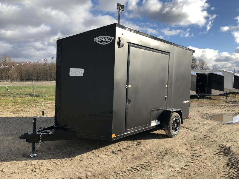 Impact Trailers 7x12 Shockwave UTV PKG Enclosed Cargo Trailer