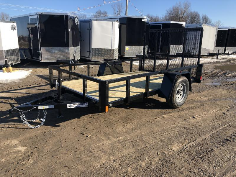 Rhino 6x10 HD Single Axle Landscape Trailer