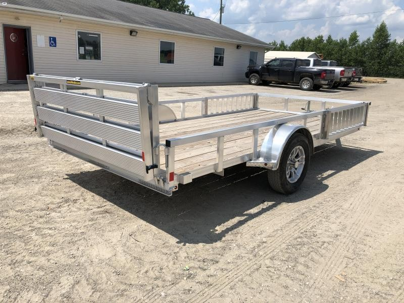 H and H 82x12 Aluminum ATV Utility Trailer
