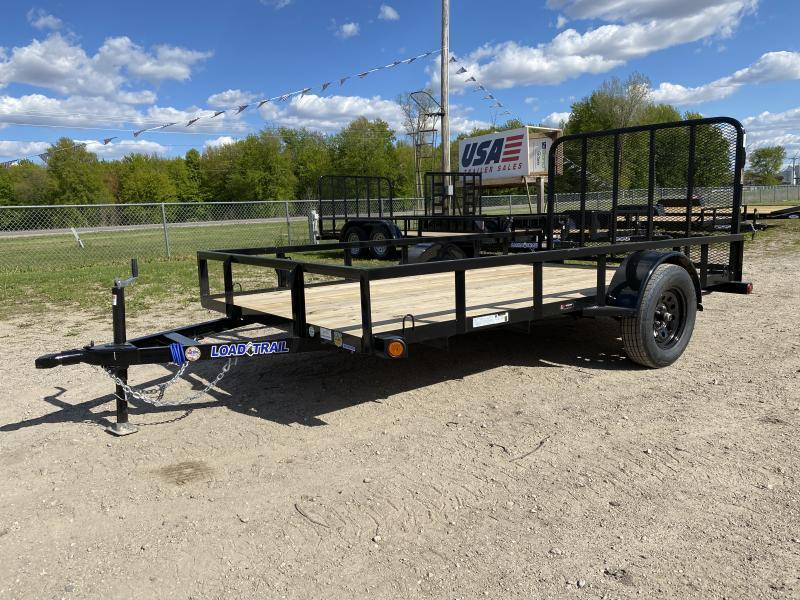 Load Trail SR Black 77x12 Utility Trailer