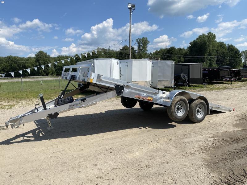 MTI Trailers 82x20 10K Aluminum Power Tilt Car / Racing Trailer