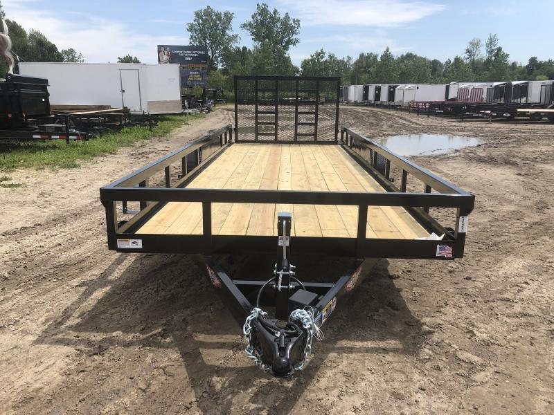 New 20' Heavy Duty Landscape Trailer By HH