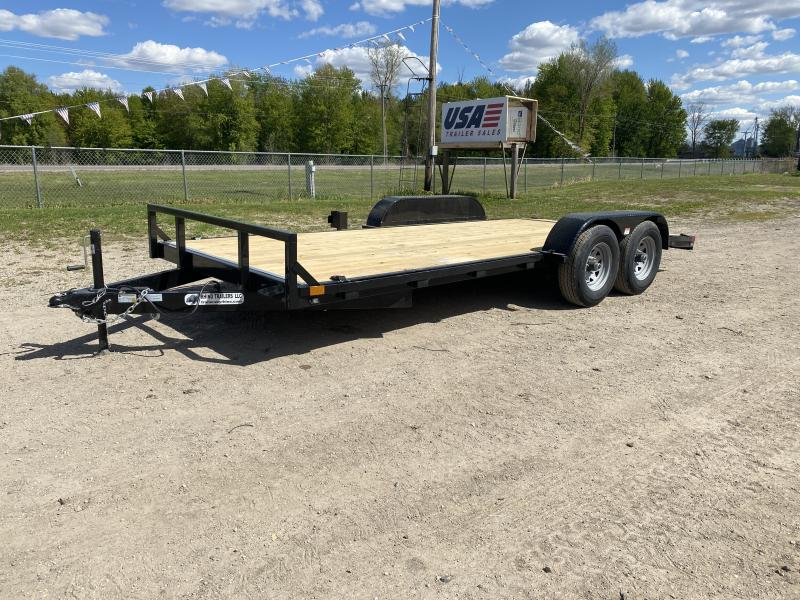 Rhino Trailers 7x18 10K Open Car Hauler Car / Racing Trailer