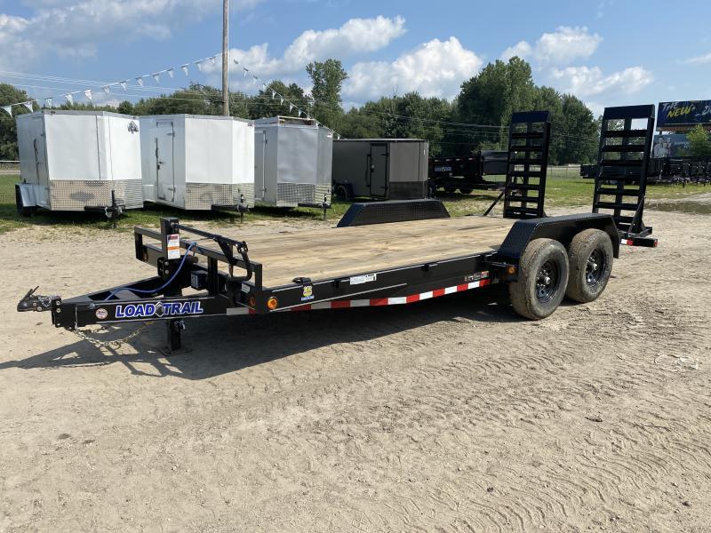 Load Trail 18ft 14K Equipment Trailer w/ HD Ramps