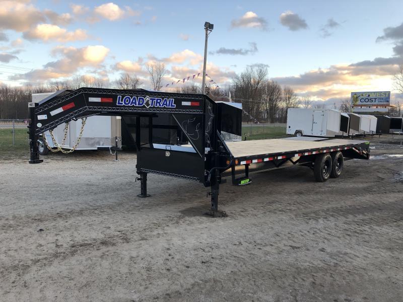 Load Trail 25 Deckover 14K Gooseneck Equipment Trailer