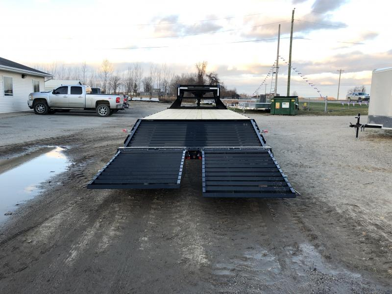 Load Trail 25 Deckover 14K Gooseneck Equipment Trailer
