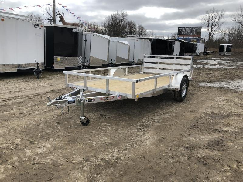 H and H 76x12 Aluminum Utility Trailer
