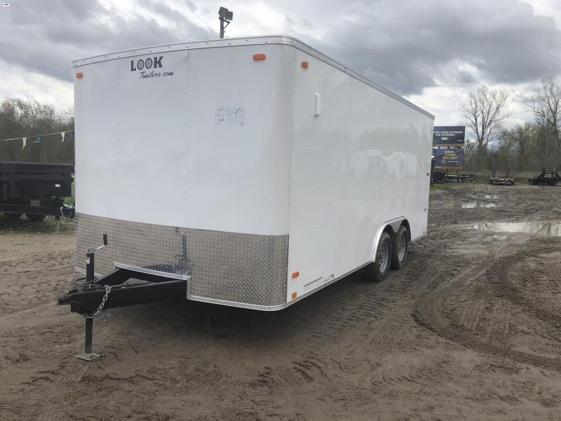 2020 Look Trailers 8.5 X 18 7K Enclosed Car / Racing Trailer