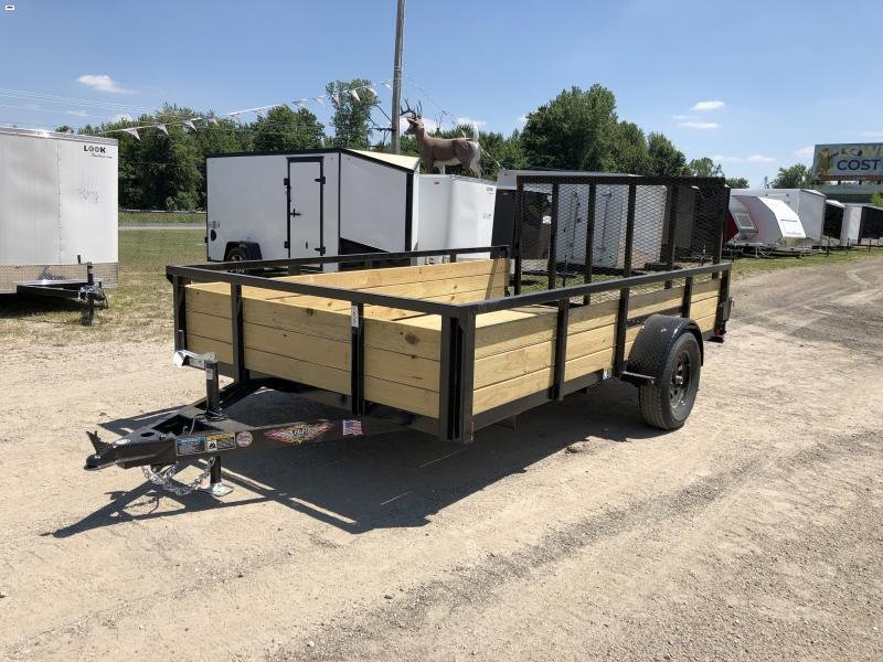 H and H Trailer 82x12 Woodside Utility Trailer