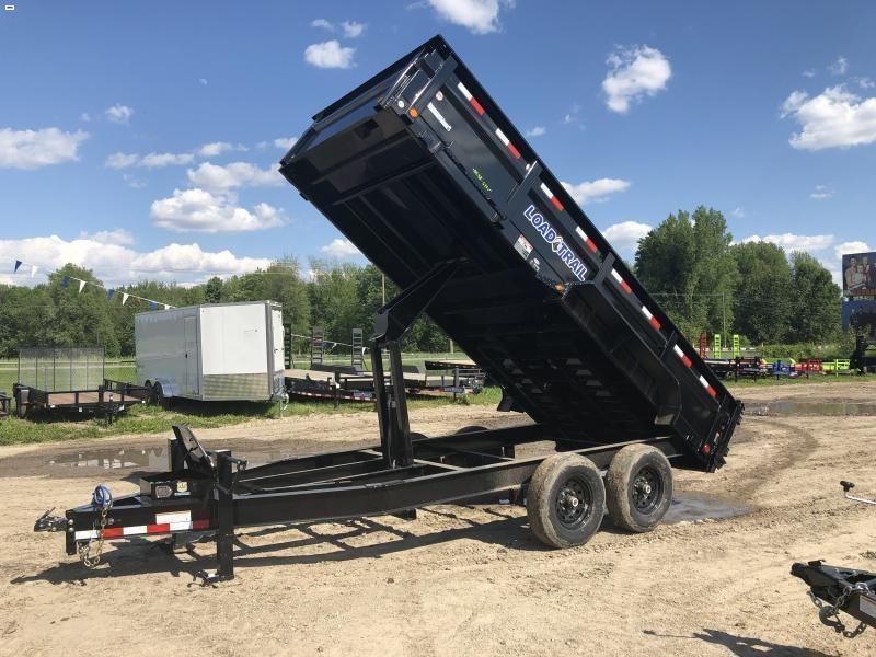 Load Trail 83x16 14K Dump Trailer Max Pkg