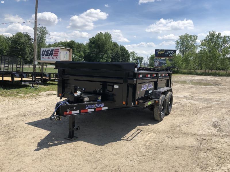 Load Trail 83x12 14K Dump Trailer w/ Max Package
