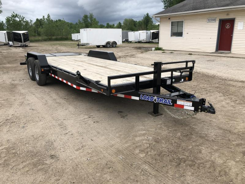 Load Trail 22ft 14K Equipment Trailer w/ Max Ramps