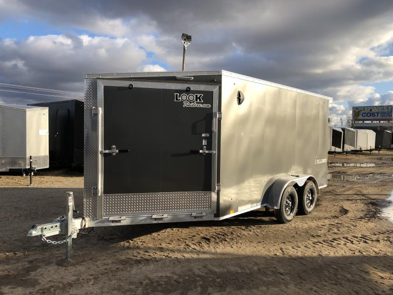 2021 Look Trailers 7x19 Avalanche Sled Trailer Snowmobile Trailer