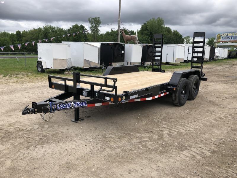 Load Trail 16ft 14K Equipment Trailer