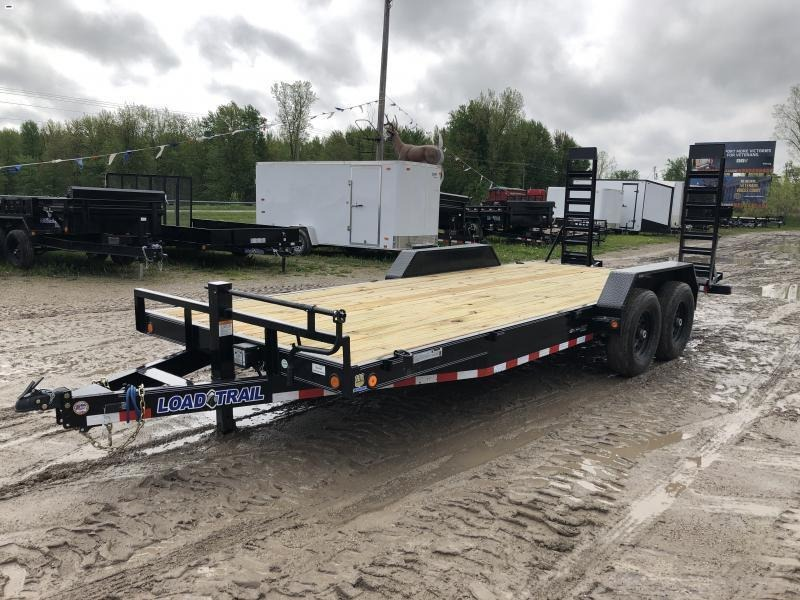 Load Trail 22ft 14K Equipment Trailer